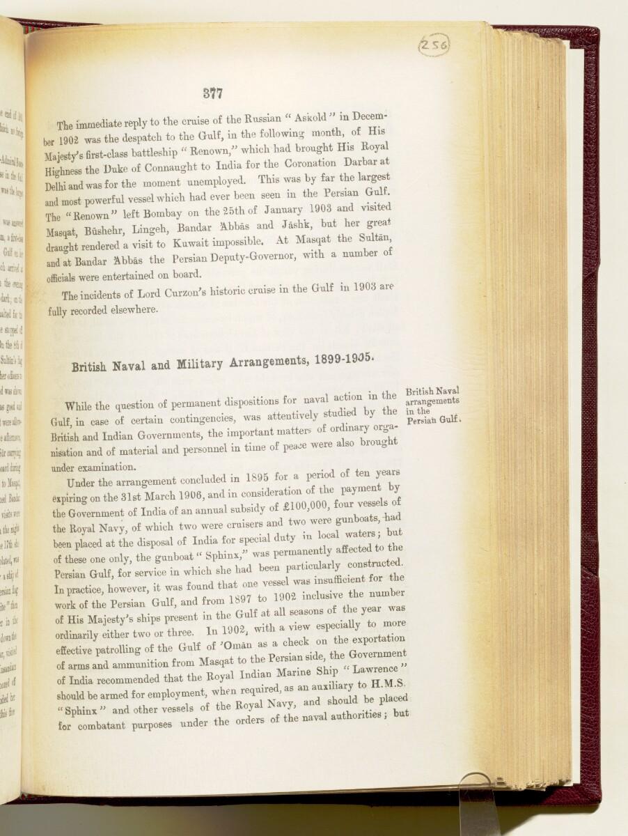 'Gazetteer of the Persian Gulf. Vol I. Historical. Part IA & IB. J G Lorimer. 1915' [377] (520/1782)