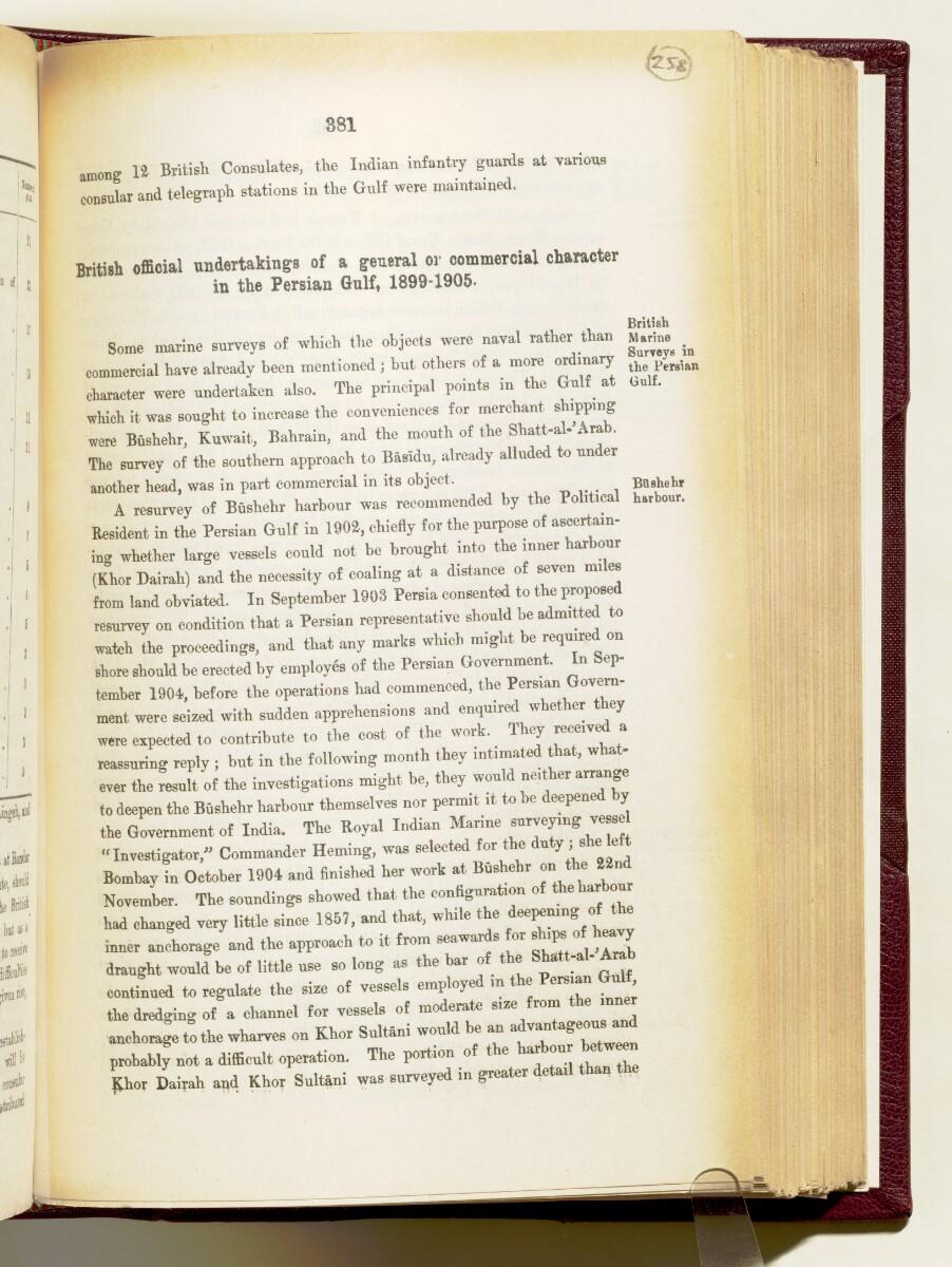 'Gazetteer of the Persian Gulf. Vol I. Historical. Part IA & IB. J G Lorimer. 1915' [381] (524/1782)