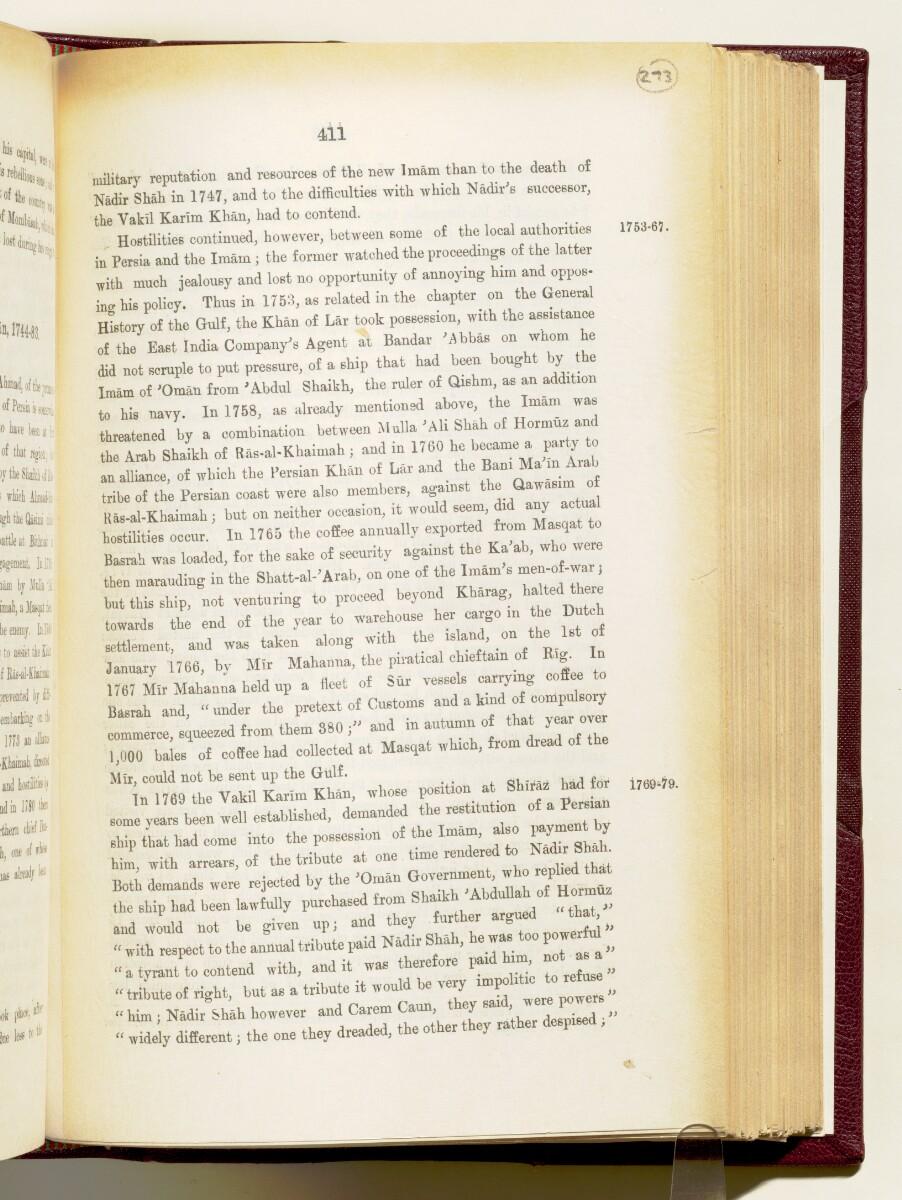'Gazetteer of the Persian Gulf. Vol I. Historical. Part IA & IB. J G Lorimer. 1915' [411] (554/1782)