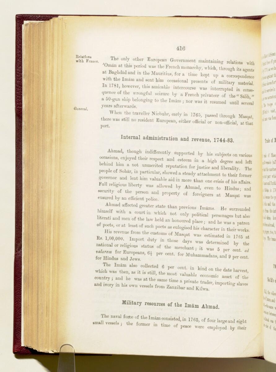 'Gazetteer of the Persian Gulf. Vol I. Historical. Part IA & IB. J G Lorimer. 1915' [416] (559/1782)