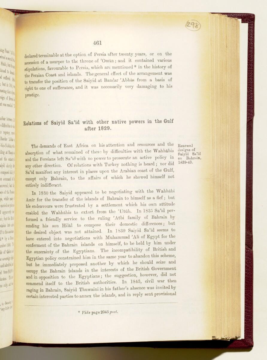 'Gazetteer of the Persian Gulf. Vol I. Historical. Part IA & IB. J G Lorimer. 1915' [461] (604/1782)