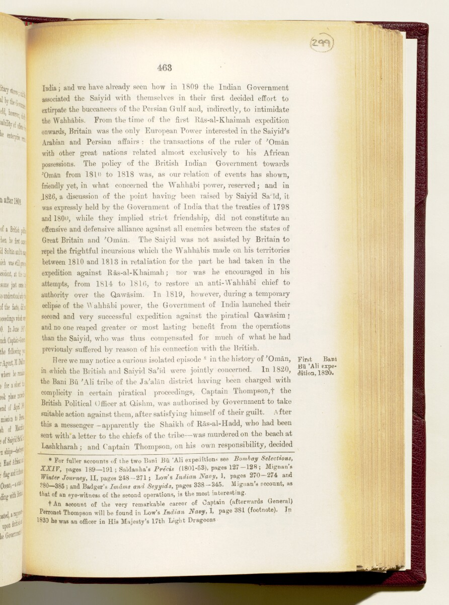 'Gazetteer of the Persian Gulf. Vol I. Historical. Part IA & IB. J G Lorimer. 1915' [463] (606/1782)