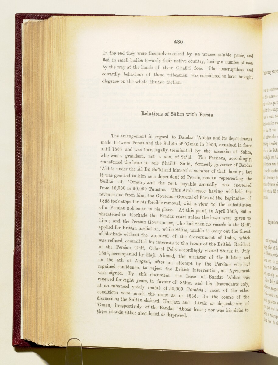 'Gazetteer of the Persian Gulf. Vol I. Historical. Part IA & IB. J G Lorimer. 1915' [480] (623/1782)