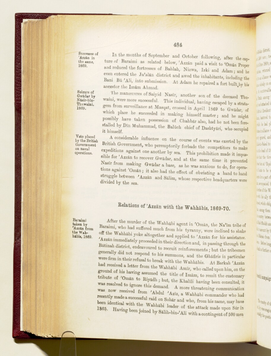 'Gazetteer of the Persian Gulf. Vol I. Historical. Part IA & IB. J G Lorimer. 1915' [484] (627/1782)