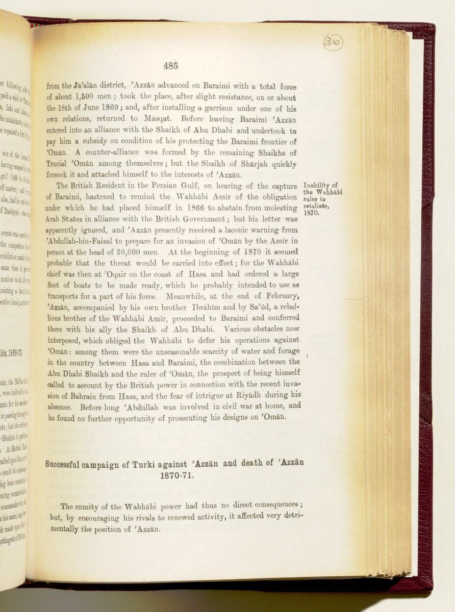 'Gazetteer of the Persian Gulf. Vol I. Historical. Part IA & IB. J G Lorimer. 1915' [485] (628/1782)