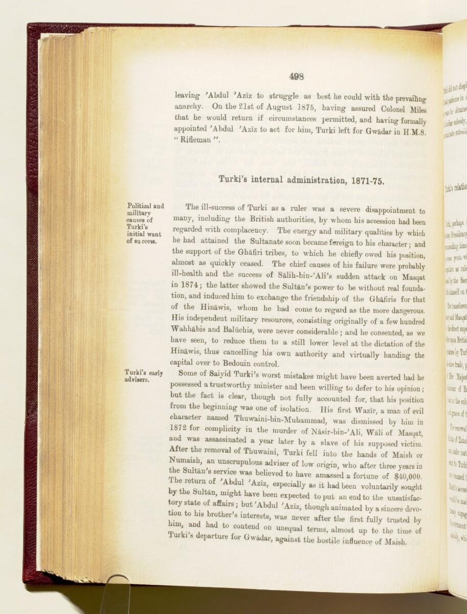 'Gazetteer of the Persian Gulf. Vol I. Historical. Part IA & IB. J G Lorimer. 1915' [498] (641/1782)