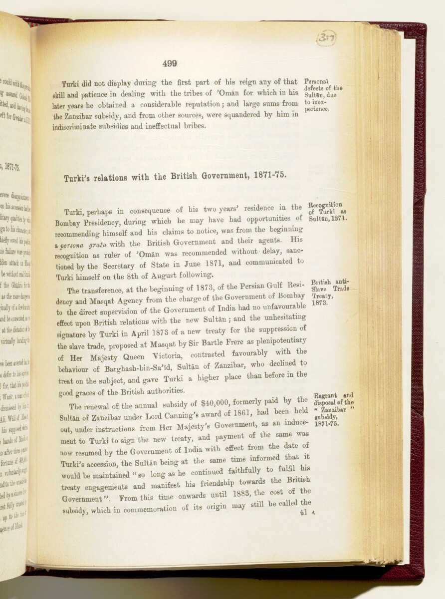 'Gazetteer of the Persian Gulf. Vol I. Historical. Part IA & IB. J G Lorimer. 1915' [‎499] (642/1782)