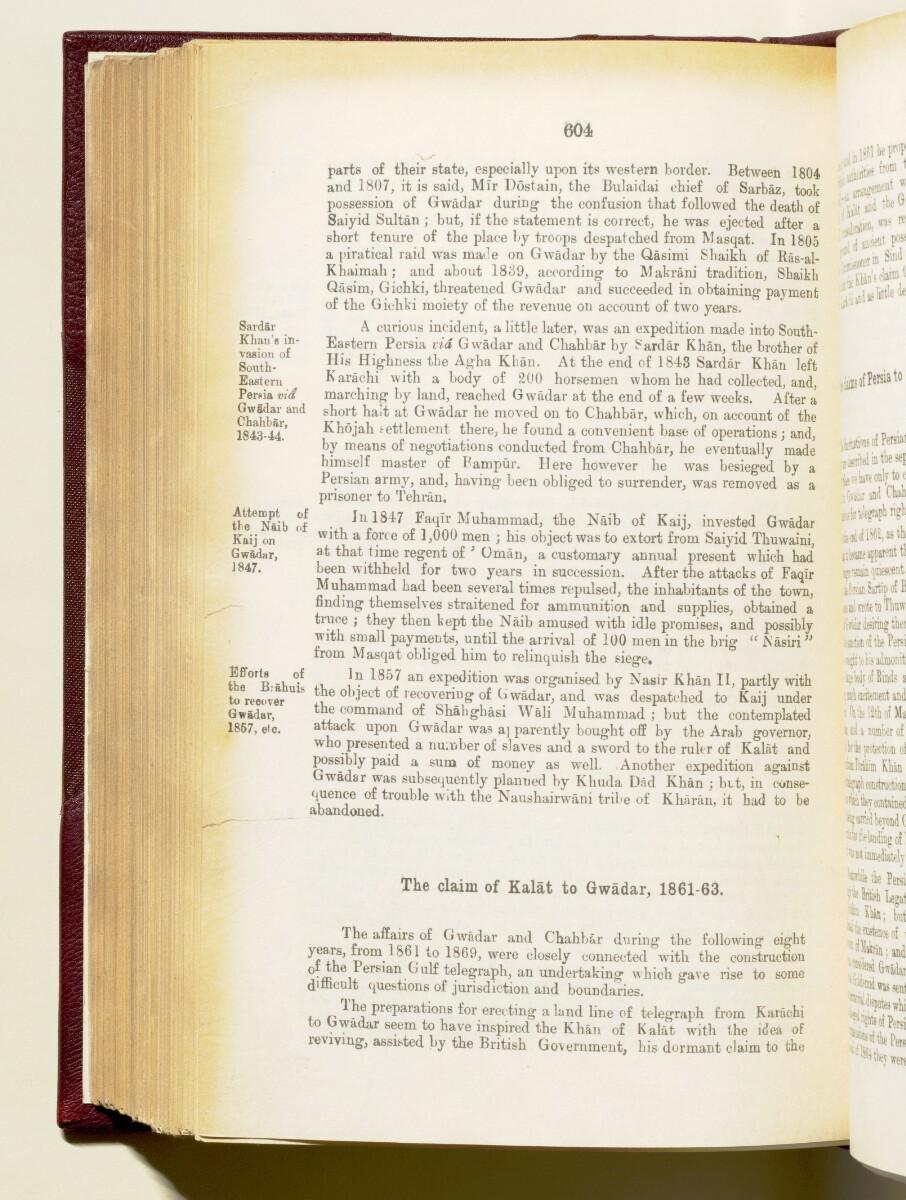 'Gazetteer of the Persian Gulf. Vol I. Historical. Part IA & IB. J G Lorimer. 1915' [604] (747/1782)