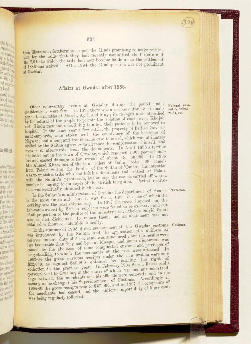 'Gazetteer of the Persian Gulf. Vol I. Historical. Part IA & IB. J G Lorimer. 1915' [621] (764/1782)