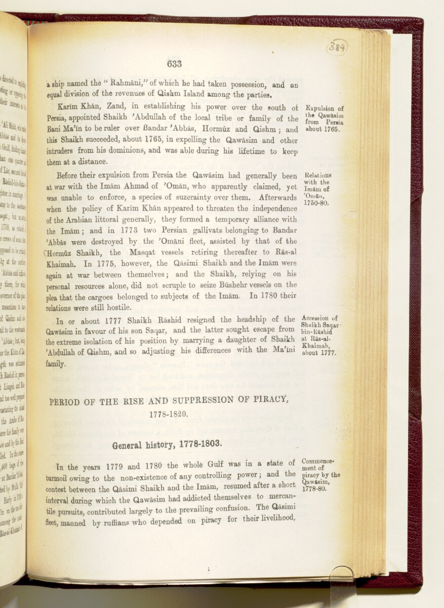 'Gazetteer of the Persian Gulf. Vol I. Historical. Part IA & IB. J G Lorimer. 1915' [‎633] (776/1782)