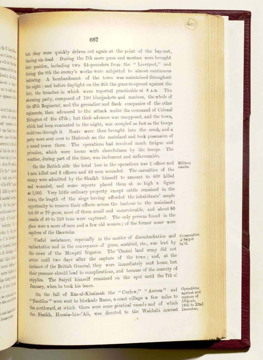 'Gazetteer of the Persian Gulf. Vol I. Historical. Part IA & IB. J G Lorimer. 1915' [667] (810/1782)
