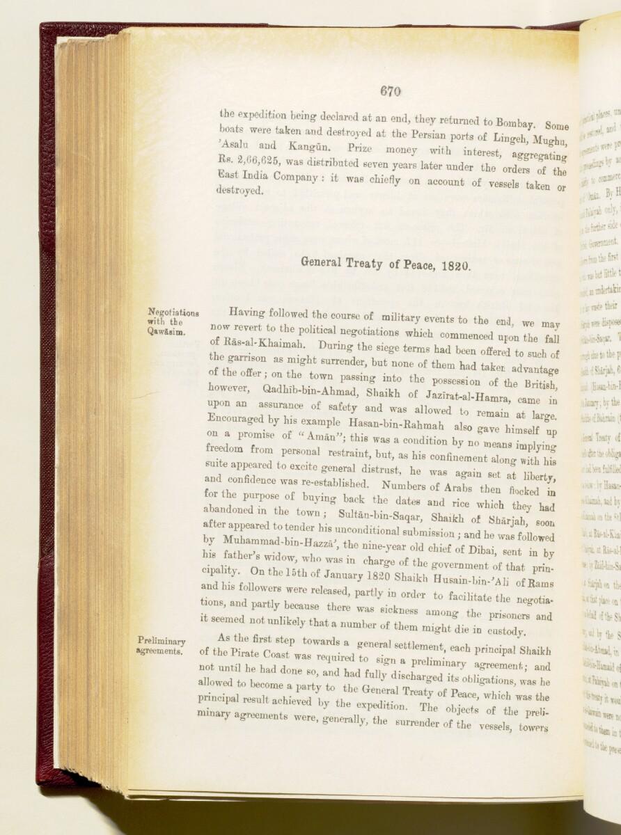 'Gazetteer of the Persian Gulf. Vol I. Historical. Part IA & IB. J G Lorimer. 1915' [670] (813/1782)
