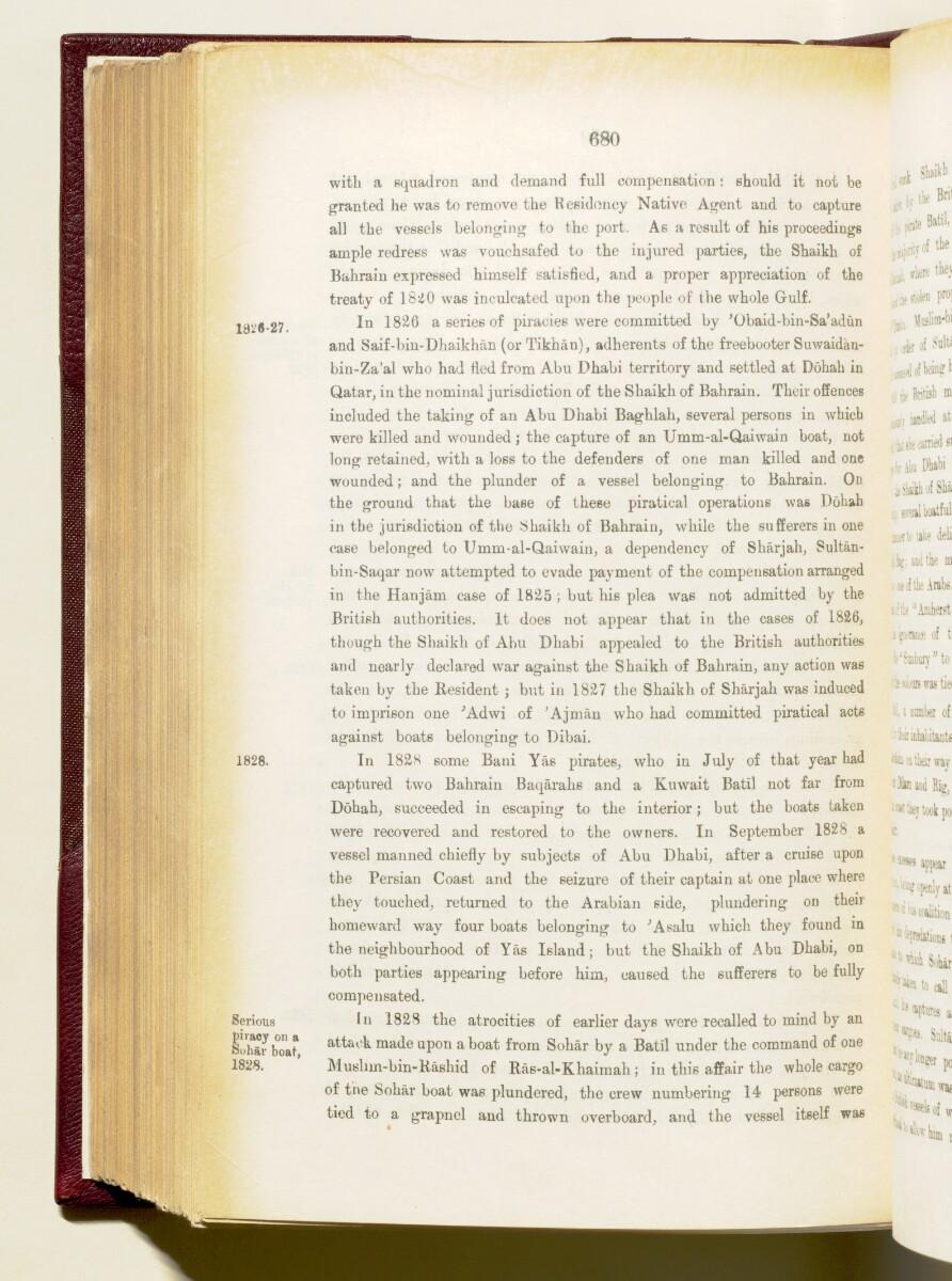 'Gazetteer of the Persian Gulf. Vol I. Historical. Part IA & IB. J G Lorimer. 1915' [680] (823/1782)