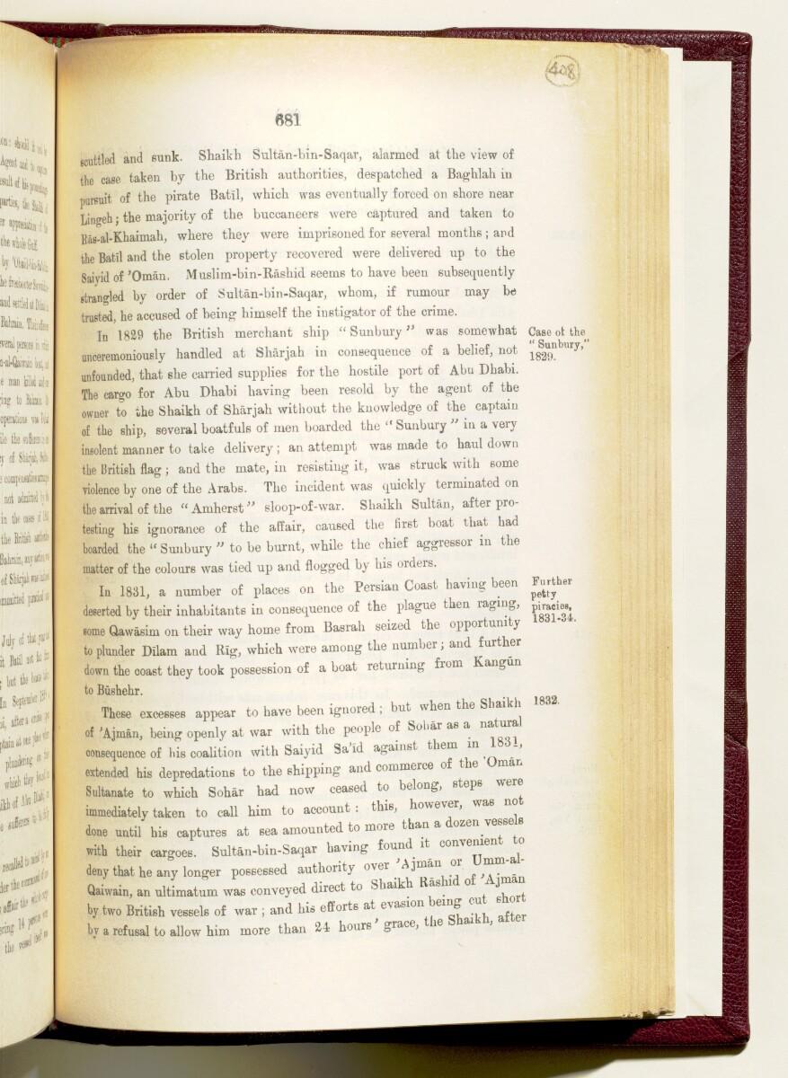 'Gazetteer of the Persian Gulf. Vol I. Historical. Part IA & IB. J G Lorimer. 1915' [681] (824/1782)