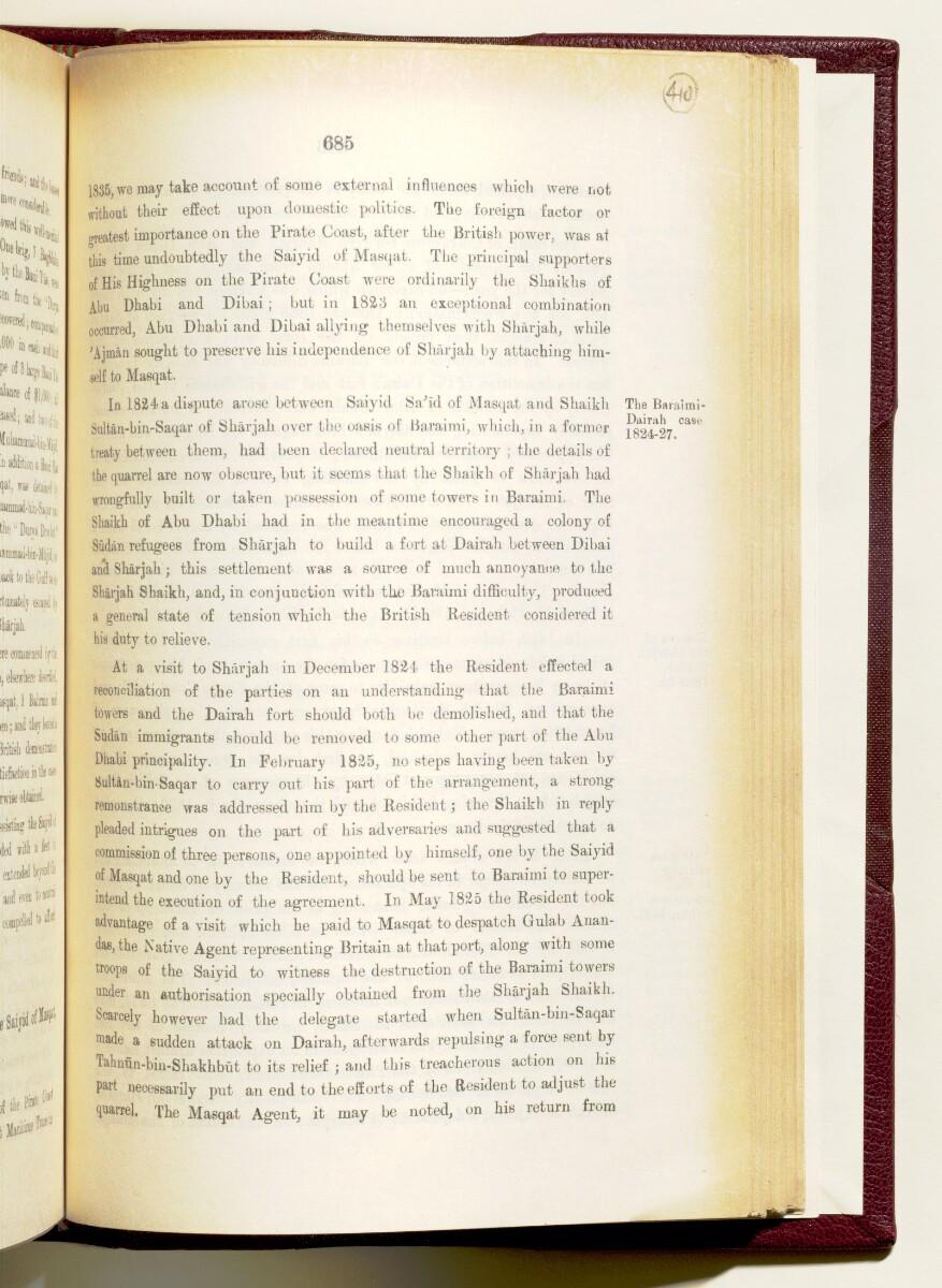 'Gazetteer of the Persian Gulf. Vol I. Historical. Part IA & IB. J G Lorimer. 1915' [685] (828/1782)