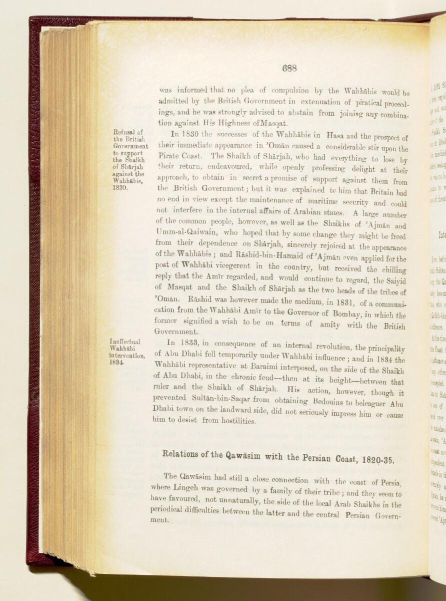 'Gazetteer of the Persian Gulf. Vol I. Historical. Part IA & IB. J G Lorimer. 1915' [688] (831/1782)