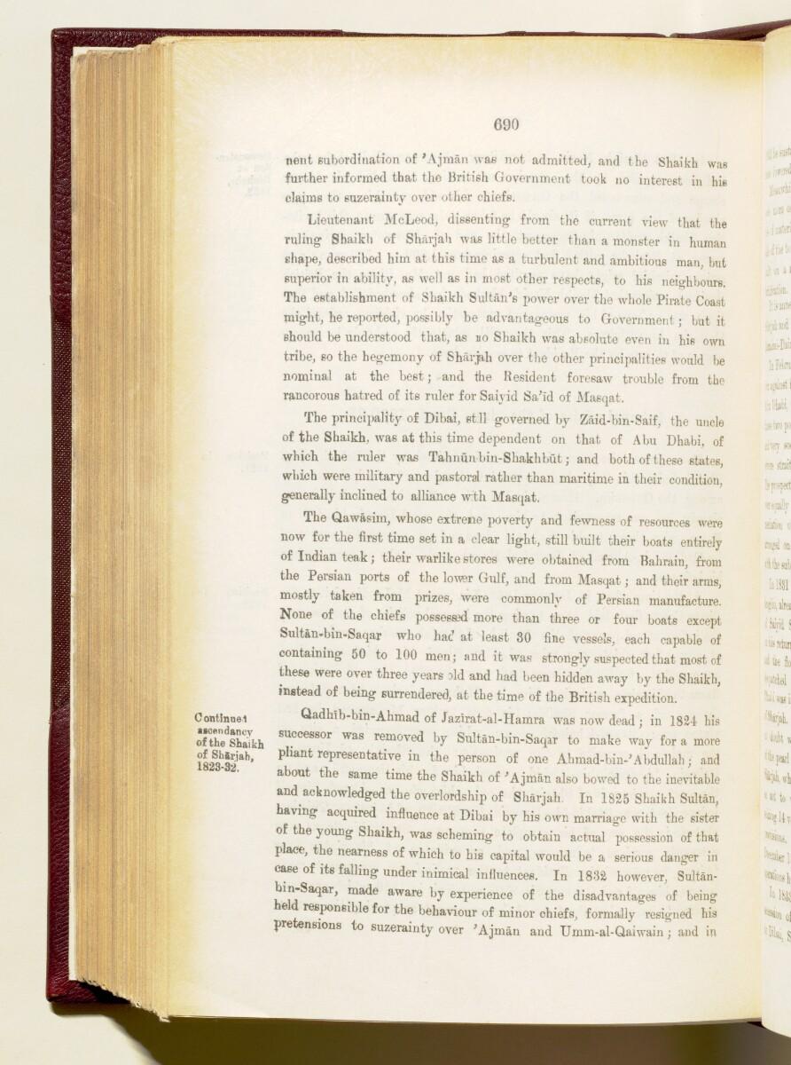 'Gazetteer of the Persian Gulf. Vol I. Historical. Part IA & IB. J G Lorimer. 1915' [690] (833/1782)