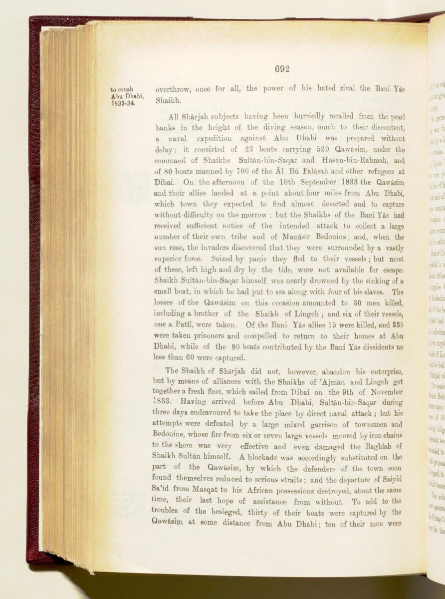 'Gazetteer of the Persian Gulf. Vol I. Historical. Part IA & IB. J G Lorimer. 1915' [692] (835/1782)