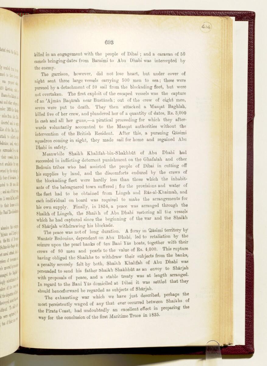 'Gazetteer of the Persian Gulf. Vol I. Historical. Part IA & IB. J G Lorimer. 1915' [693] (836/1782)