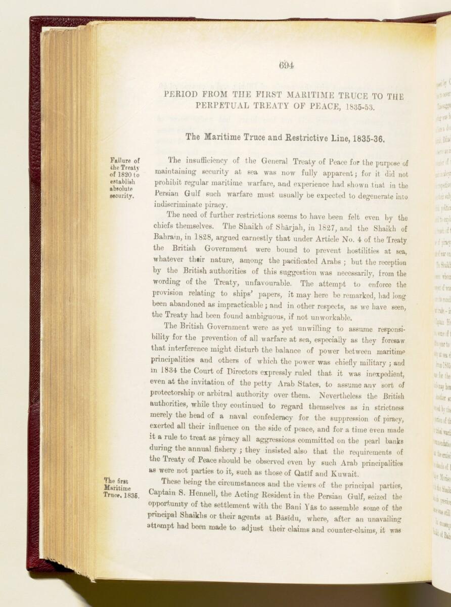 'Gazetteer of the Persian Gulf. Vol I. Historical. Part IA & IB. J G Lorimer. 1915' [694] (837/1782)