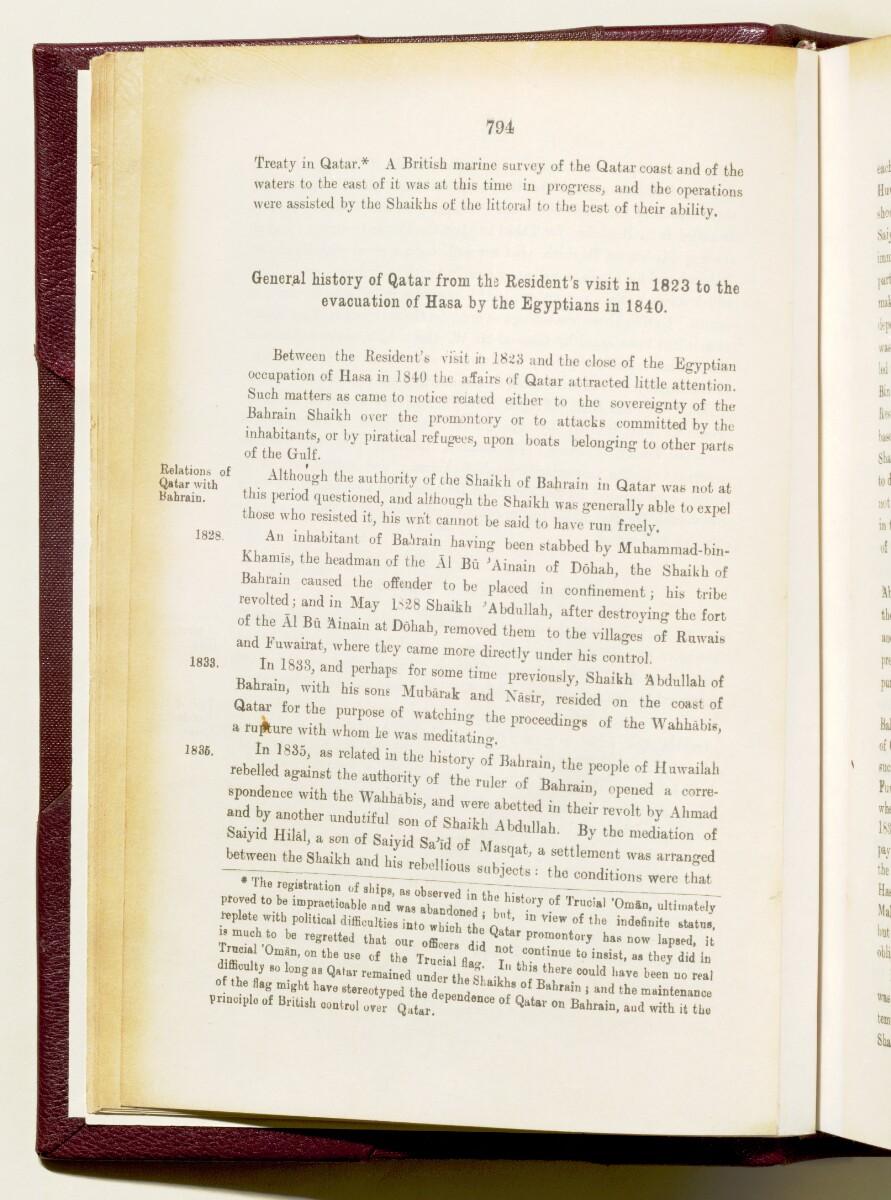 'Gazetteer of the Persian Gulf. Vol I. Historical. Part IA & IB. J G Lorimer. 1915' [794] (949/1782)