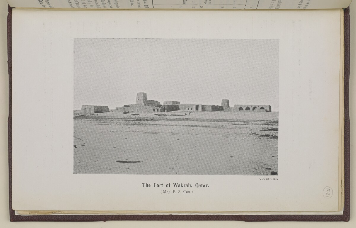 'Gazetteer of the Persian Gulf. Vol. II. Geographical and Statistical. J G Lorimer. 1908' [‎1926a] (2054/2084)