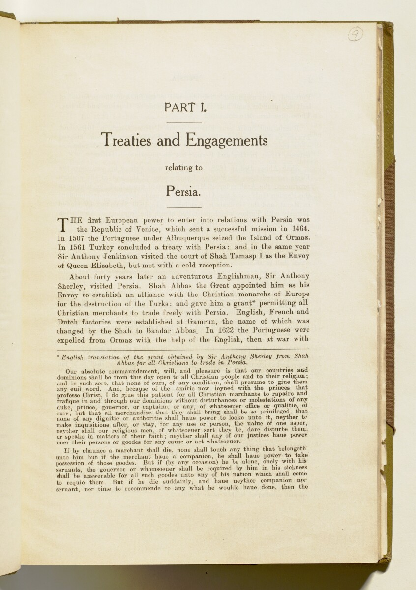 'A collection of treaties, engagements and sanads relating to India and neighbouring countries' [‎1] (18/578)