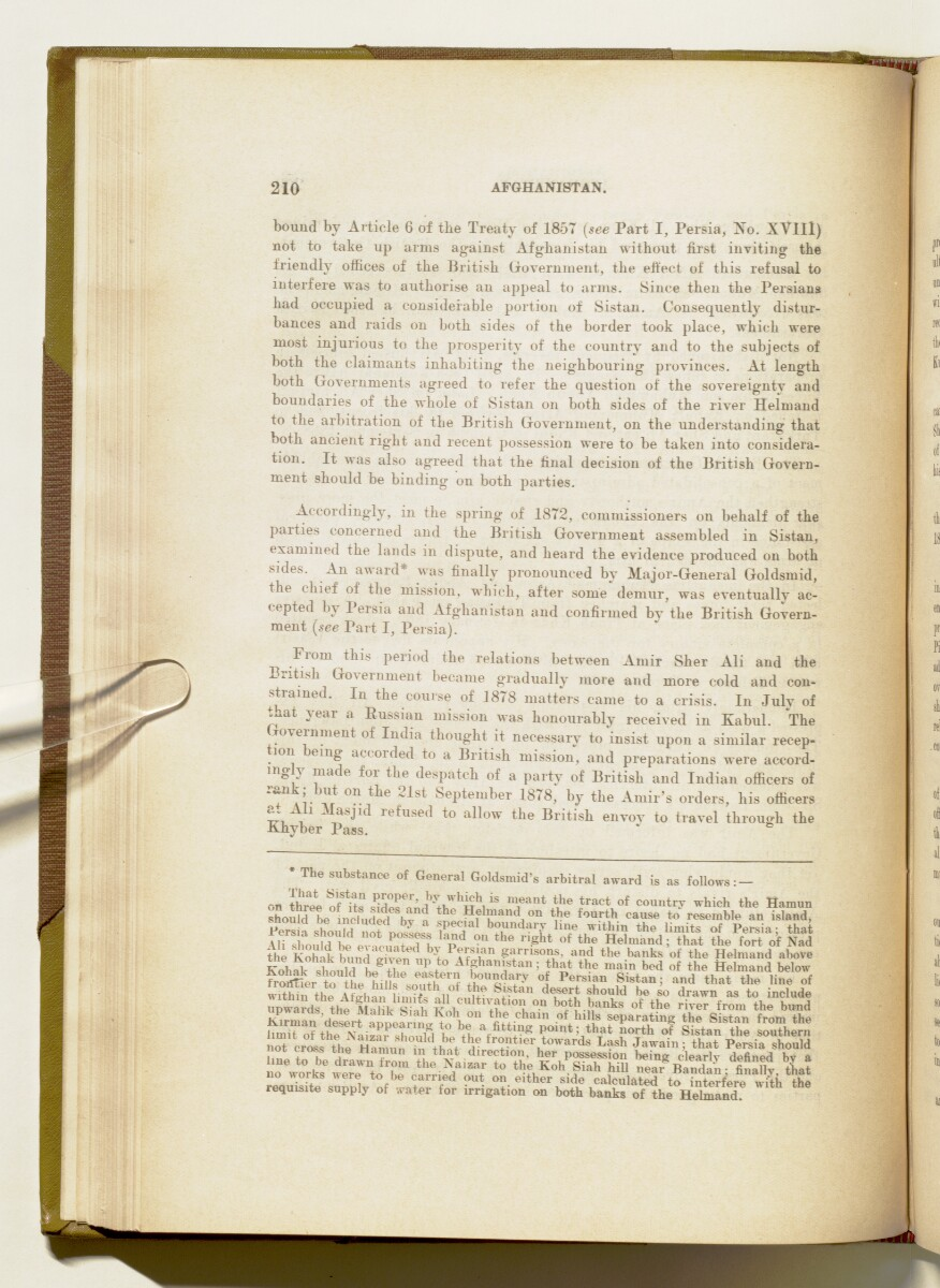'A collection of treaties, engagements and sanads relating to India and neighbouring countries' [210] (227/578)