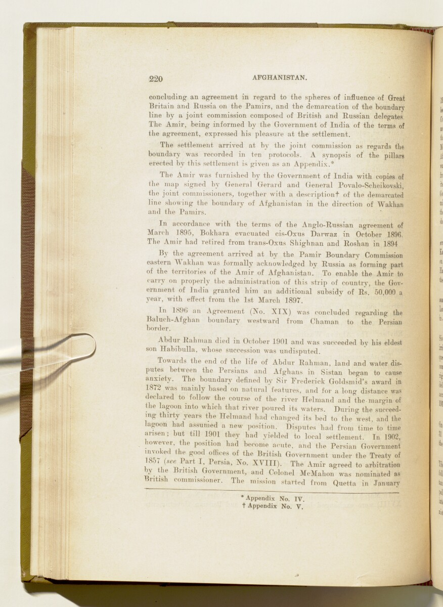 'A collection of treaties, engagements and sanads relating to India and neighbouring countries' [220] (237/578)