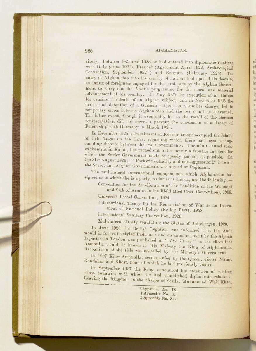 'A collection of treaties, engagements and sanads relating to India and neighbouring countries' [‎228] (245/578)