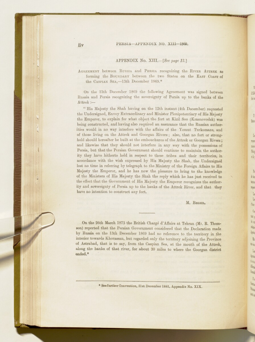 'A collection of treaties, engagements and sanads relating to India and neighbouring countries' [54] (377/578)