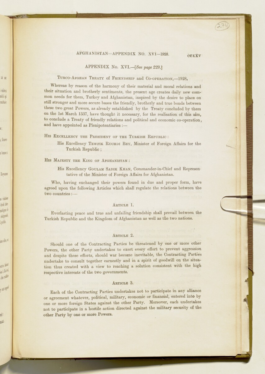 'A collection of treaties, engagements and sanads relating to India and neighbouring countries' [225] (548/578)