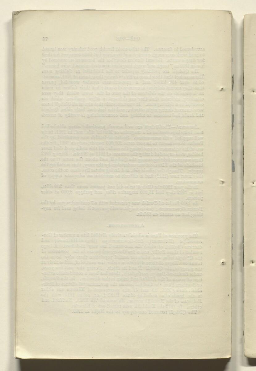 'CORRECTIONS TO GAZETTEER OF PERSIA. VOLUME III' [76v] (154/180)