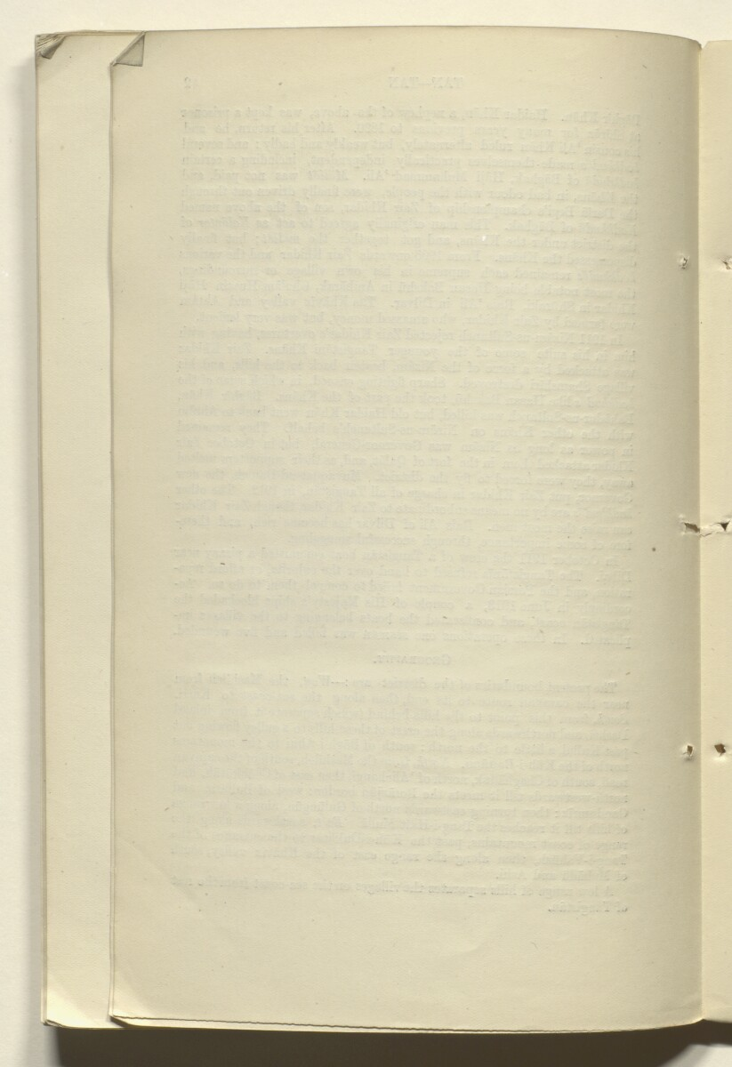 'CORRECTIONS TO GAZETTEER OF PERSIA. VOLUME III' [82v] (166/180)