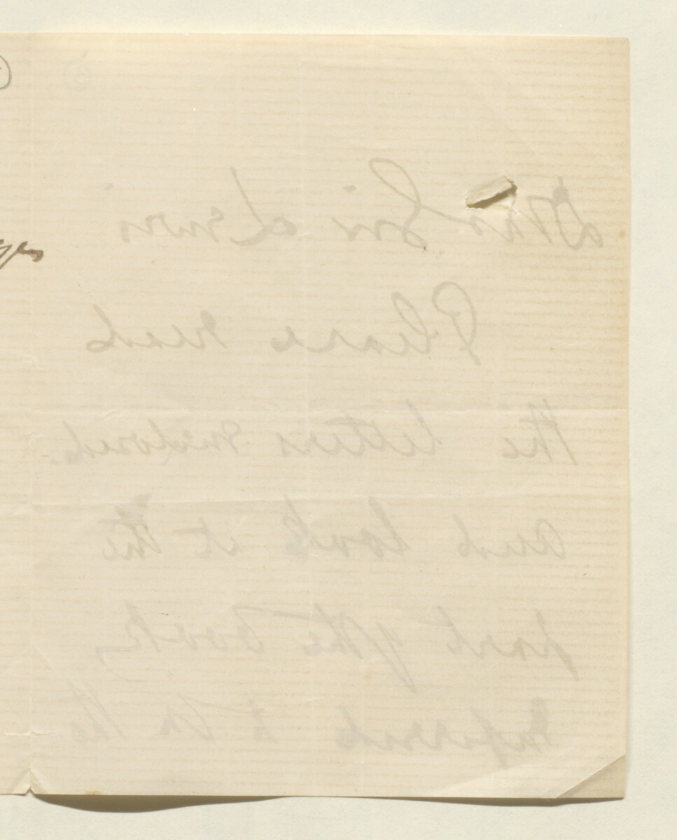Letter from Lord Elcho to Lewis Pelly [‎4v] (4/12)