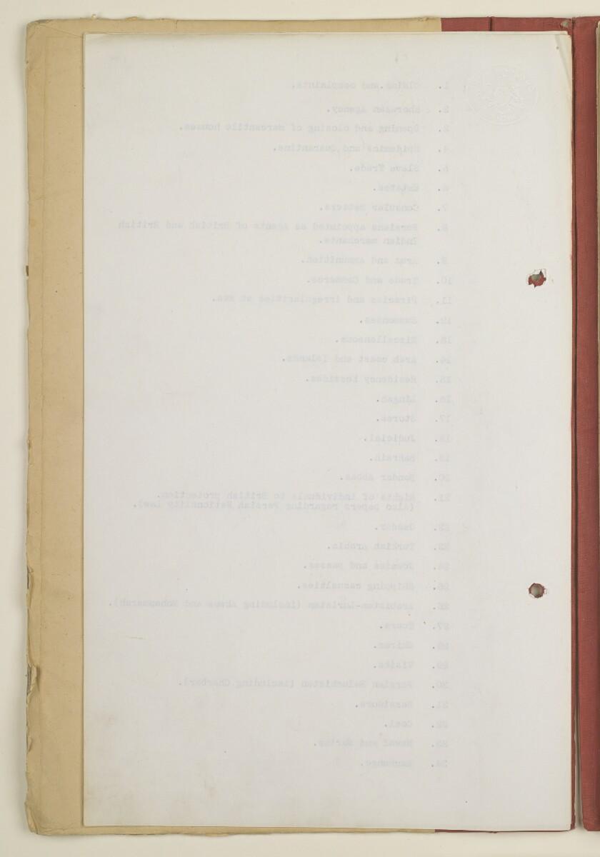 'Original C.O. [Confidential Office] File Register' [3v] (6/252)