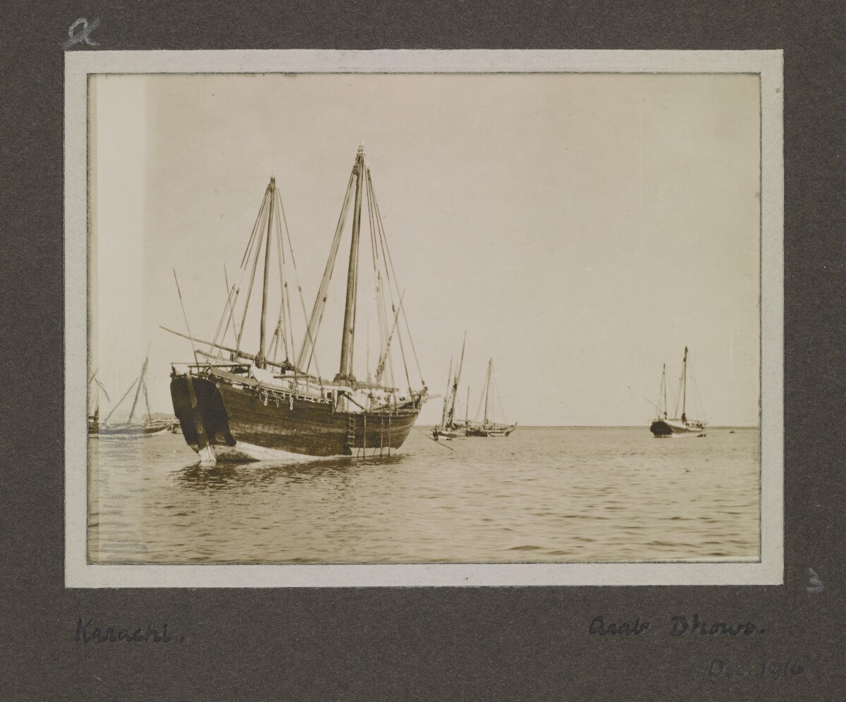 'Karachi: Arab Dhows' [‎2-a] (1/1)