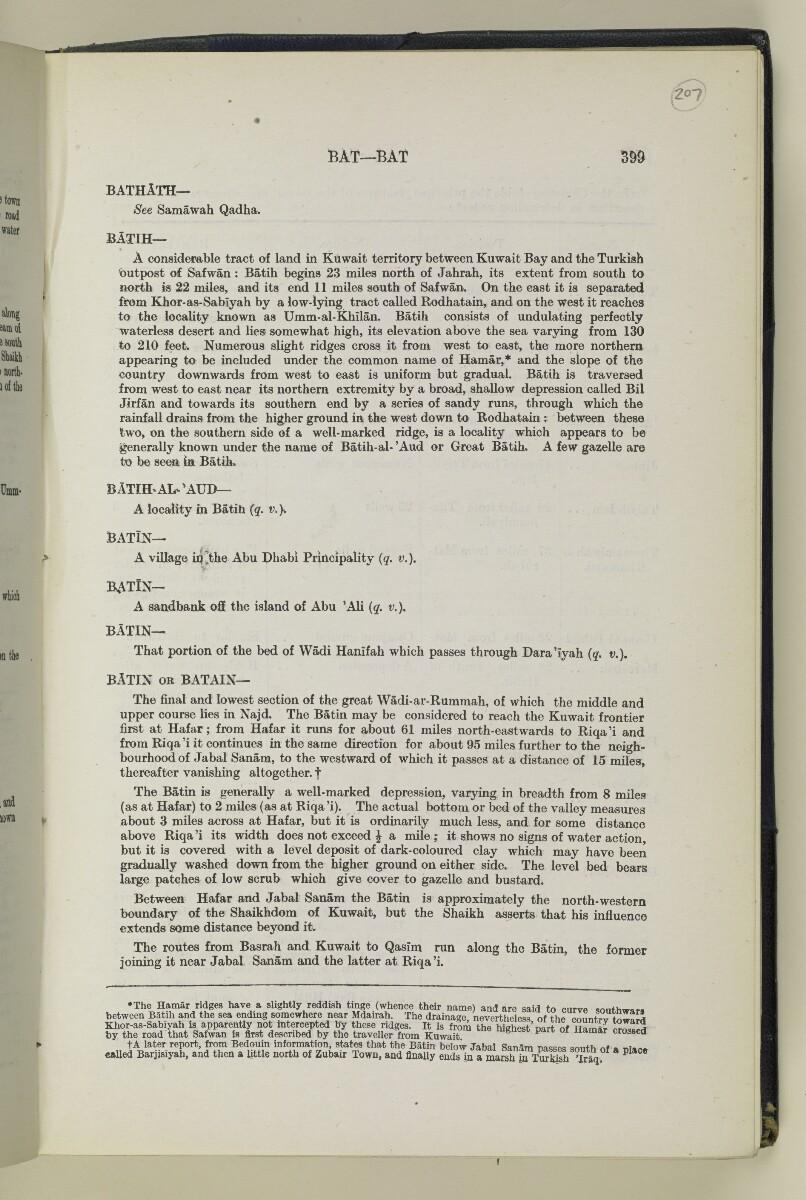 'Gazetteer of Arabia Vol. I' [399] (418/1050)