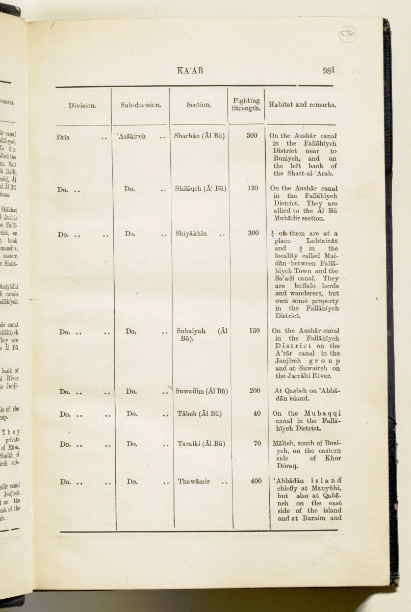 'Gazetteer of Arabia Vol. II' [981] (18/688)