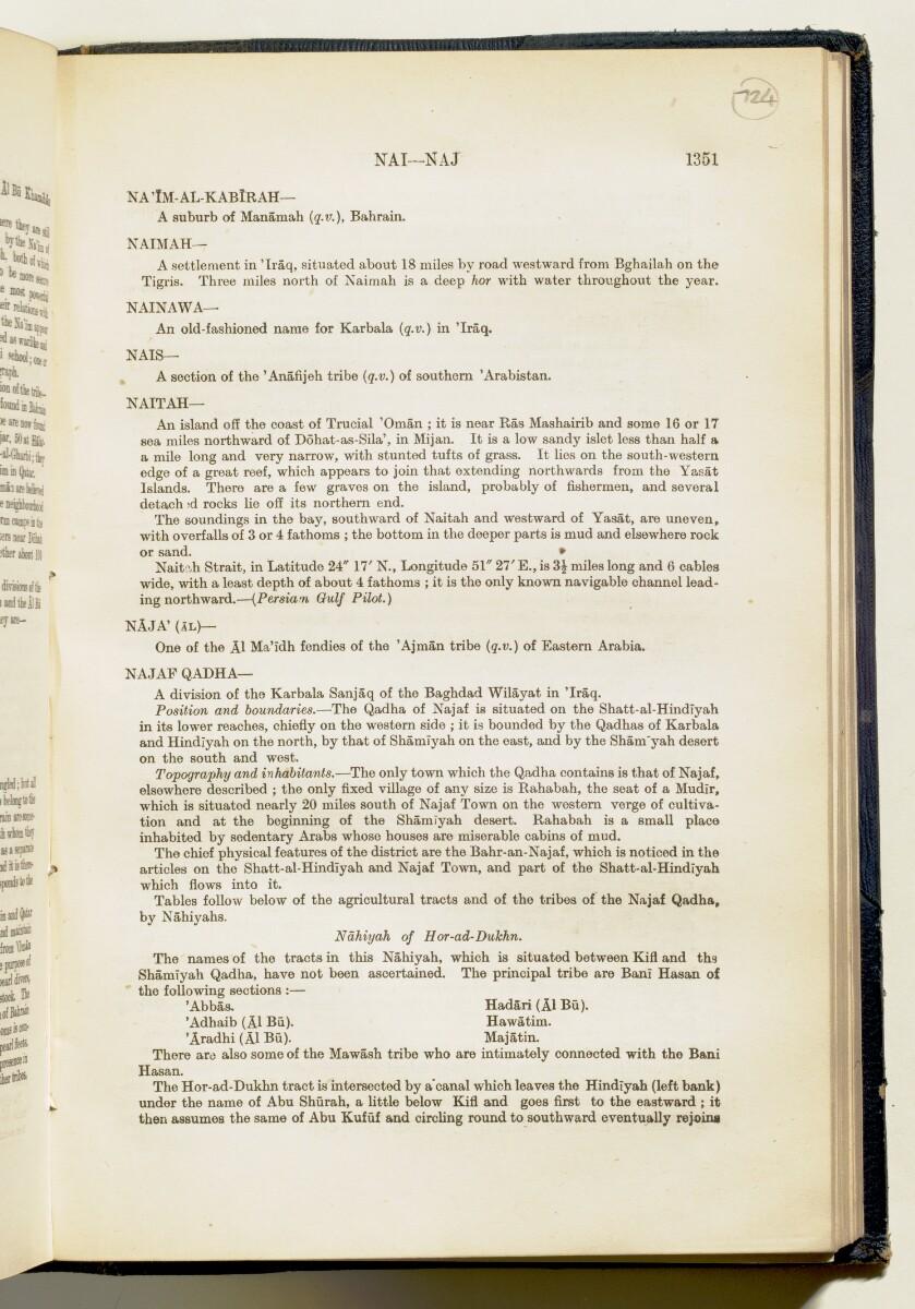 'Gazetteer of Arabia Vol. II' [1351] (406/688)