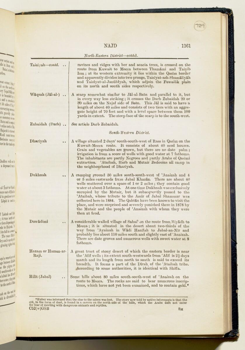 'Gazetteer of Arabia Vol. II' [1361] (416/688)