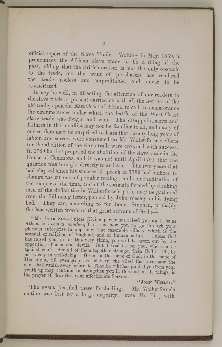 'The Slave Trade of East Africa.' [9] (18/108)
