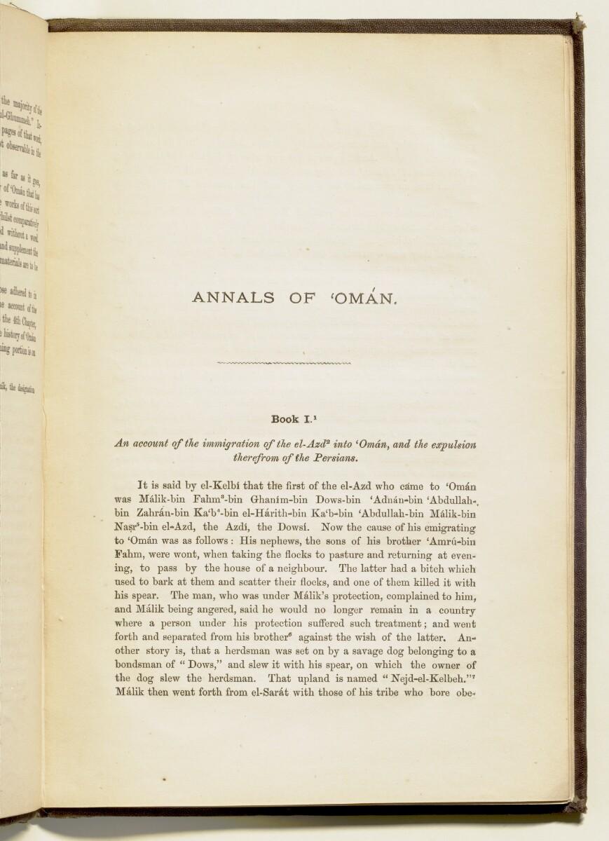 'Annals of 'Omān' [3] (20/112)